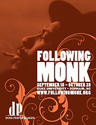 Following Monk Festival Poster